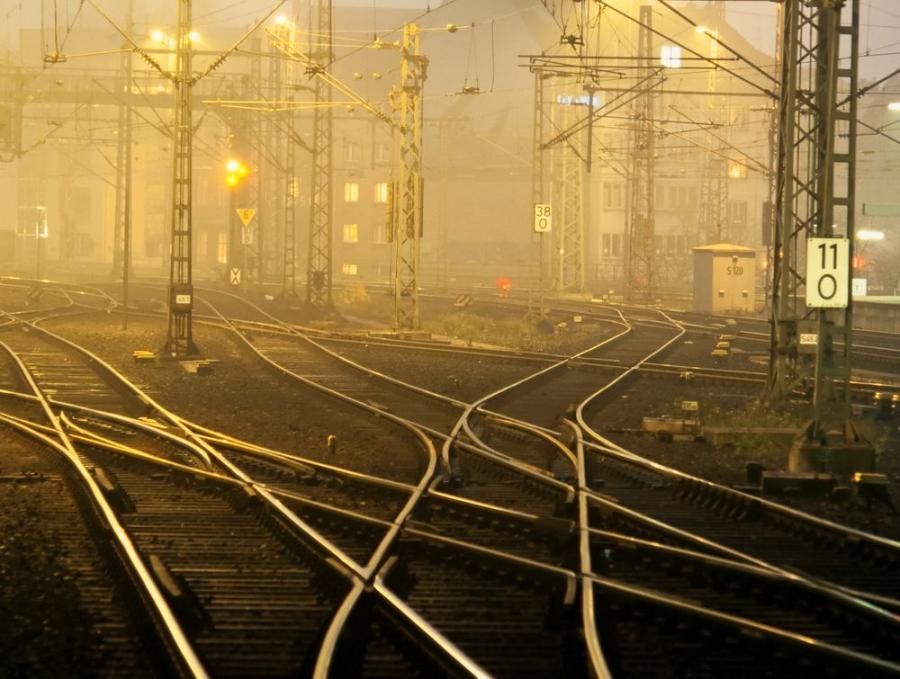 Kolej, transport, tory
