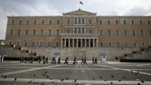 Protesty w Atenach przed wizytą kanclerz Angeli Merkel