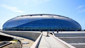 Park olimpijski w Soczi, budowa stadionu hokejowego na zimowe igrzyska olimpijskie