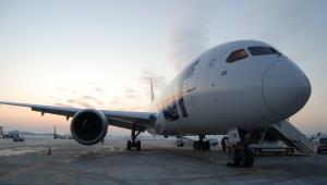 Samolot Boeing 787 Dreamliner w barwach LOT.  Fot. PLL LOT