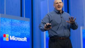 Steve Ballmer, prezes Microsoftu, zapowiedział swoją dymisję