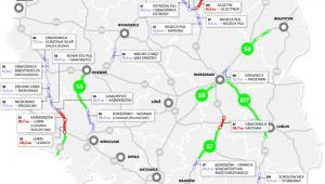 Mapa planowanych przetargów na drogi ekspresowe do końca 2013 roku