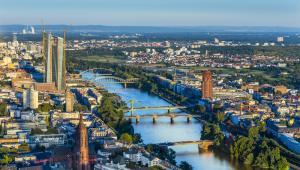 Frankfurt nam Menem, Niemcy.