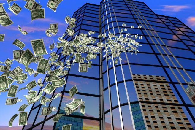 Pieniądze, wieżowce