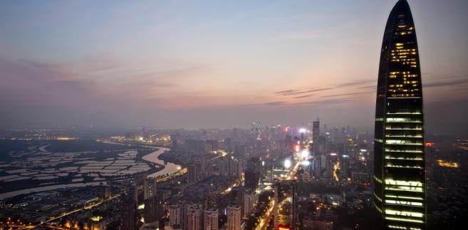 Shenzhen, wieżowiec King Key 100