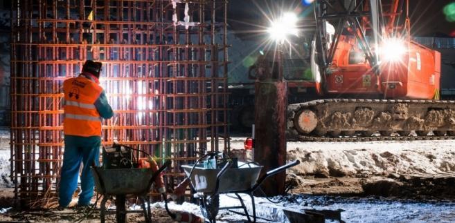 Budowa dworca Łódź Fabryczna // źródło: NLF Torpol-Astaldi s.c.