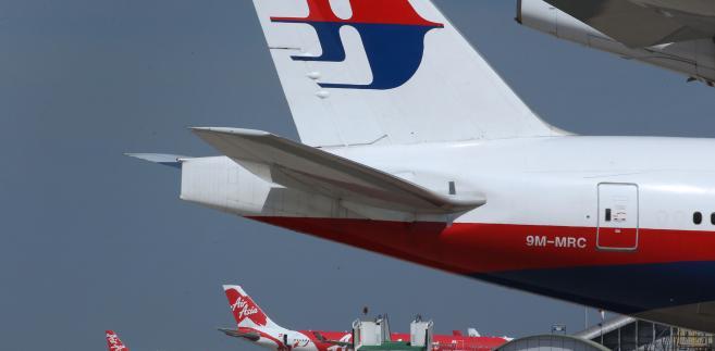Samolot malezyjskich linii lotniczych - Malaysian Airline System Bhd