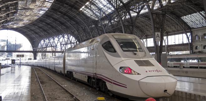 Szybka kolej AVE w Barcelonie