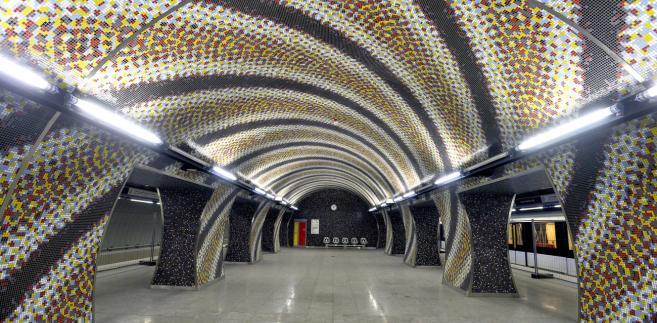 Stacja metra Szent Gellért tér w Budapeszcie. Fot.: BKK