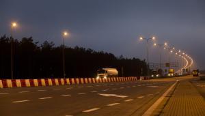 Autostrada A2, okolice Rzepina. 13.12.2013