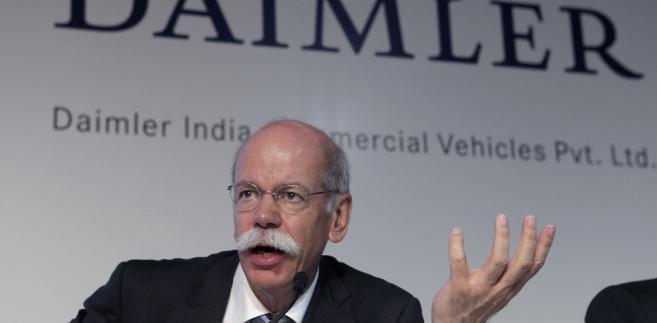 Dieter Zetsche, szef Daimler AG
