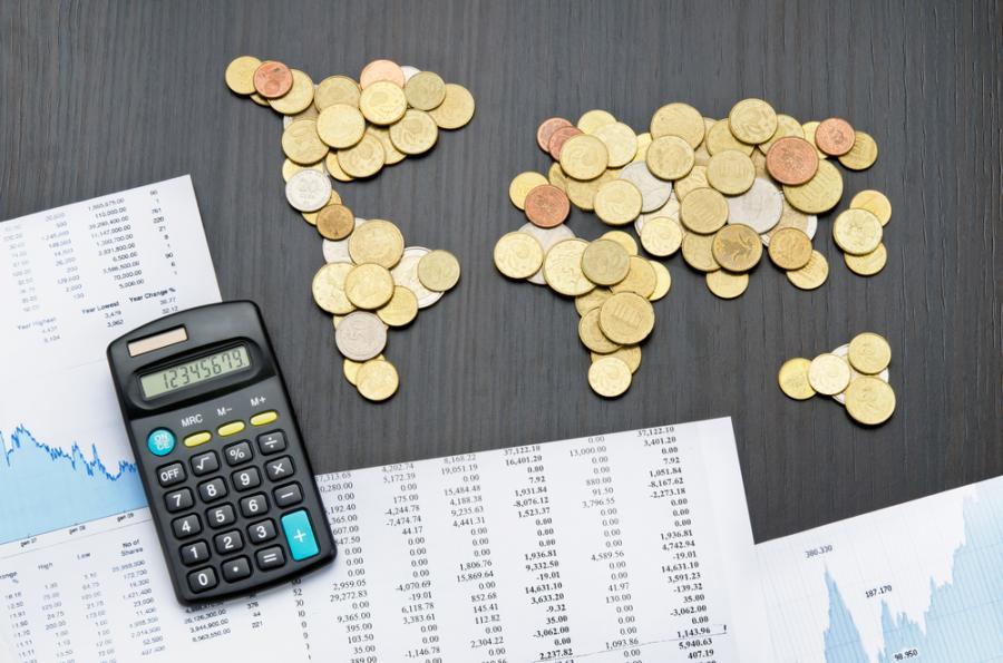 podatki, finanse, świat