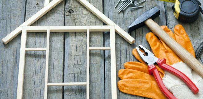 mieszkanie, dom, budowa