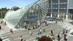 Dworzec PKP Warszawa Zachodnia - wejście