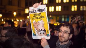 Protesty po ataku na redakcję Charlie Hebdo