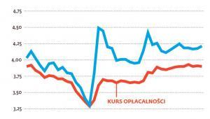 Rzeczywisty średni kurs euro