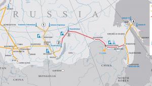 Gazociąg Siła Syberii (fot. Gazprom)
