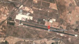 Lotnisko Ciudad Real, Hiszpania, źródło: Google Maps