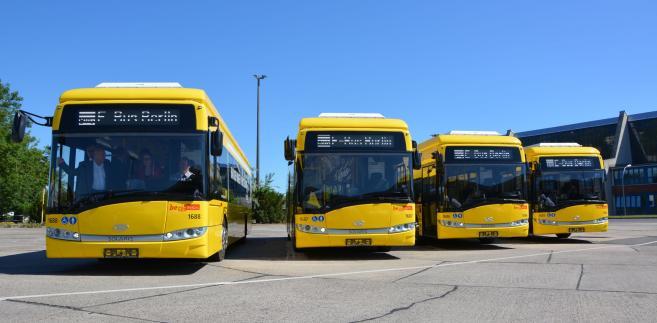 Elektryczny Solaris Urbino 12 dla Berlina
