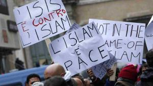 Protesty muzułmanów przeciw terroryzmowi, Włochy