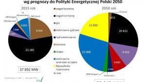 Moc zainstalowana polskich elektrowni i elektrociepłowni