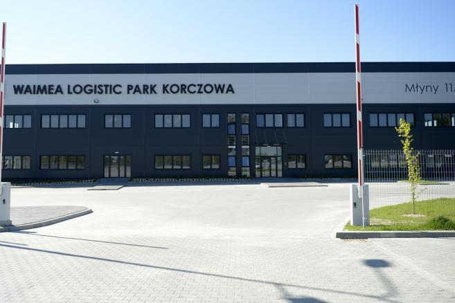 Waimea Logistic Park Korczowa (ukit) PAP/Darek Delmanowicz