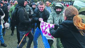 Manifestacja w Szczecinie, 2015 r. CEZARY ASZKIELOWICZ/AGENCJA GAZETA