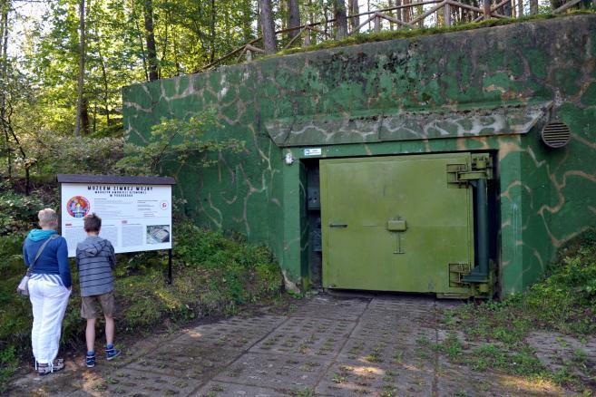 Muzeum Oręża Polskiego - bunkry atomowe w Podborsku (mb/mr) PAP/Marcin Bielecki