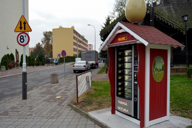 Pierwszy w Polsce jajomat - (dd/cat) PAP/Darek Delmanowicz