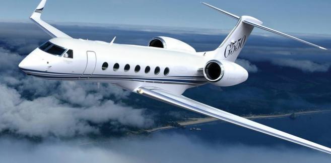 Samolot Gulfstream G-550