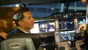 Ten pilot Lufthansy przesiadł się do nowej maszyny z A340