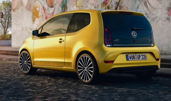 Volkswagen Up! fot. materiały prasowe