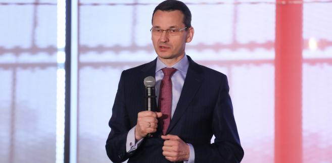 Wicepremier, minister rozwoju i finansów Mateusz Morawiecki przemawia podczas Kongresu Liderów Rzeczypospolitej