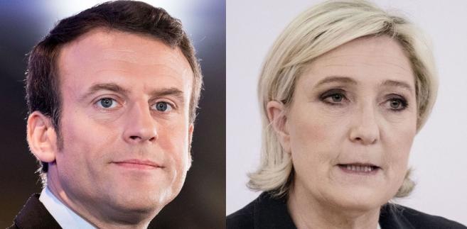 Emmanuel Macron i Marine Le Pen