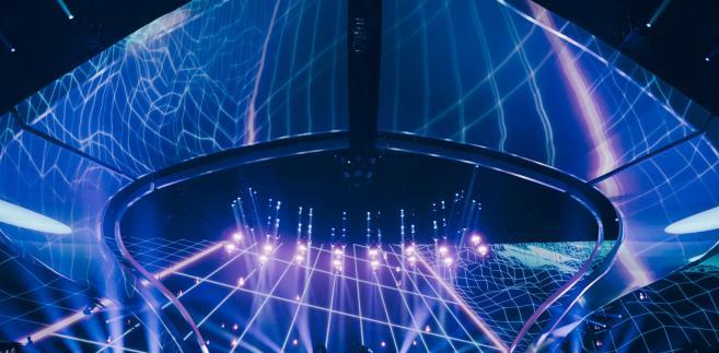 Scena konkursu Eurowizji w Kijowie