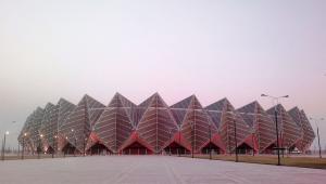 Kryształowa Hala w Baku zbudowana przed Eurowizją w 2012 roku