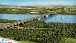 Most przez Wisłę w ciągu S2 Puławska- Lubelska, źródło: GDDKiA