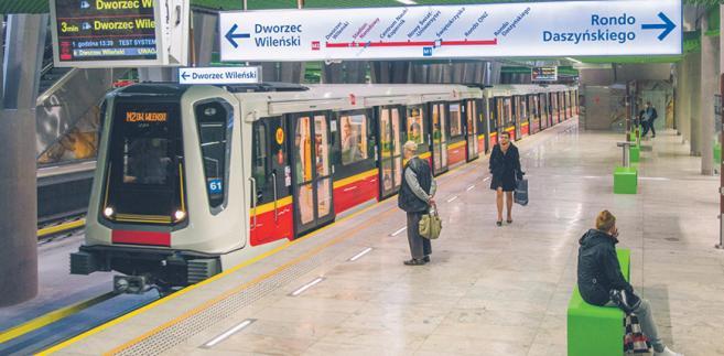 Pociągi Inspiro niemiecko-polskiego konsorcjum Siemensa i Newagu zostały kupione przez metro po poprzednim przetargu fot. Andrzej Sidor/Forum