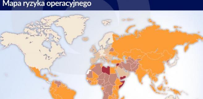 Mapa ryzyka - aktualizacja maj 2017 (graf. obserwator finansowy)