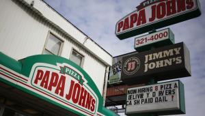Restauracja sieci pizzerii Papa Johns
