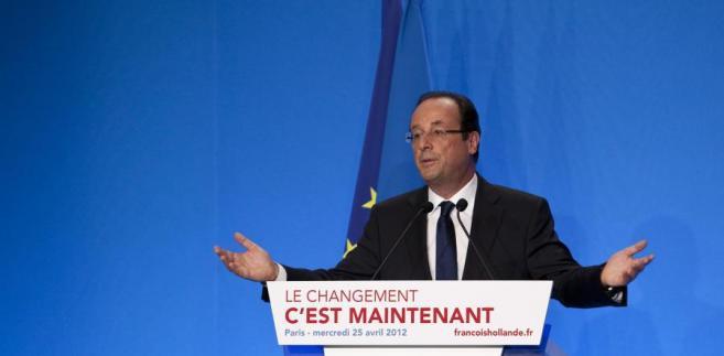 Nowy prezydent Francji Francois Hollande.