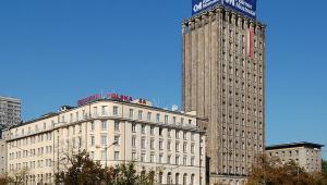 Przedwojenny wieżowiec Prudential w Warszawie. fot. Wikipedia Autor:Marcin Białek