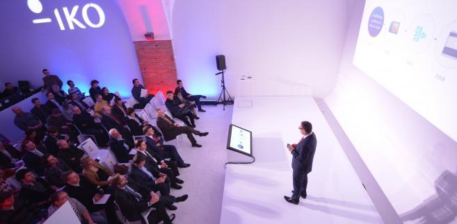 Konferencja, podczas której PKO BP zprezentował IKO. Fot. materiały PKOBP