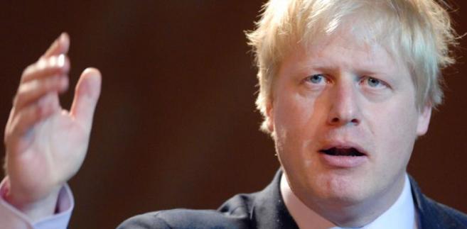 Boris Johnson, burmistrz Londynu