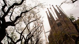 Sagrada Familia, Barcelona, Hiszpania. Autor: Mstyslav Chernov (Self-photographed, http://mstyslav-chernov.com/) [CC-BY-SA-3.0 (http://creativecommons.org/licenses/by-sa/3.0)], undefined