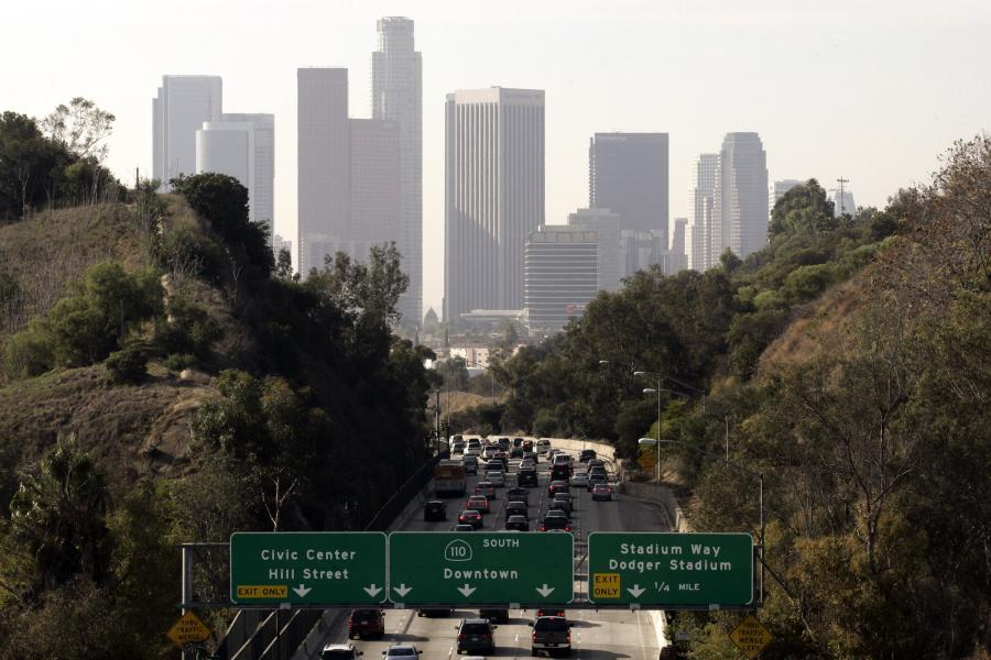 Miasto Los Angeles w stanie Kalifornia
