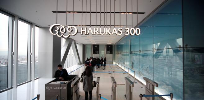 Abeno Harukas najwyższy wieżowiec w Japonii