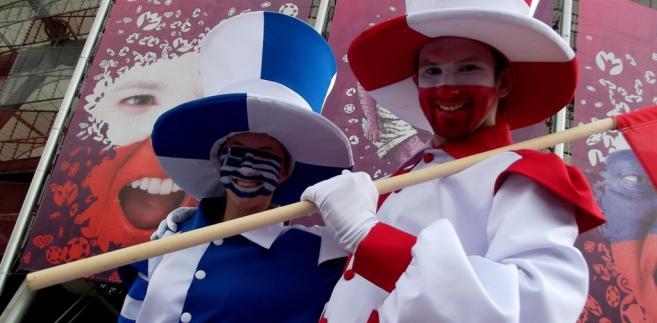 Przed Stadionem Narodowym, mecz Polska-Grecja foto: Piotr Drabik, Flickr