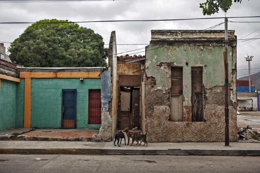 Opuszczony dom w Puerto Cabello, Wenezuela