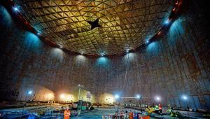 Terminal LNG, budowa - czerwiec 2013; fot. materiał prasowy Polskie LNG SA